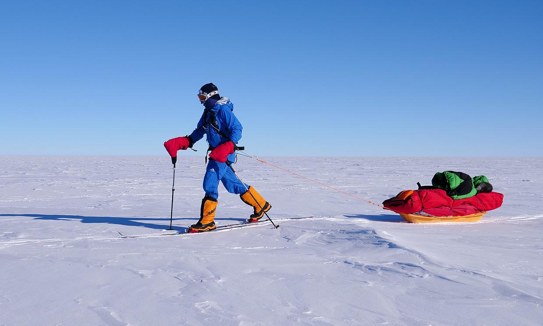 Así fueron los primeros días de expedición de Paulina Villalonga