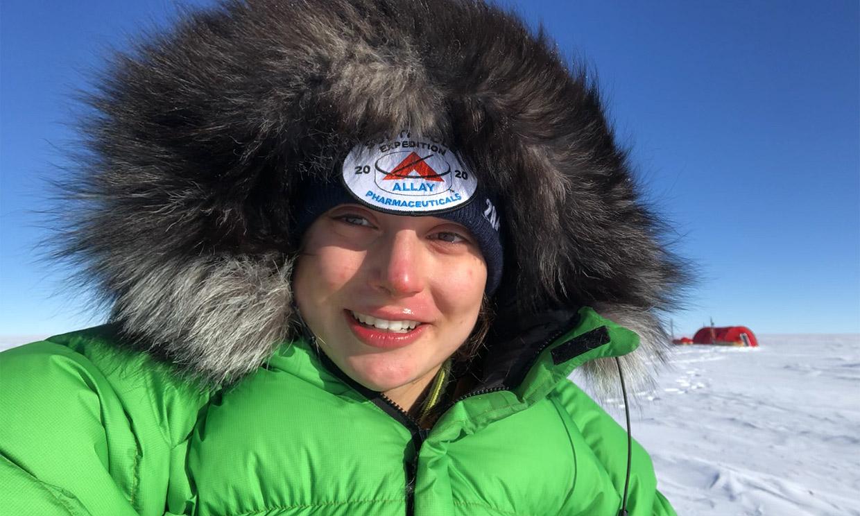 Entrevistamos a Paulina Villalonga tras el viaje al Polo Sur que le ha cambiado la vida