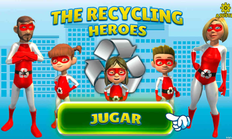 'The Recycling Heroes', un videojuego para concienciar sobre el reciclaje