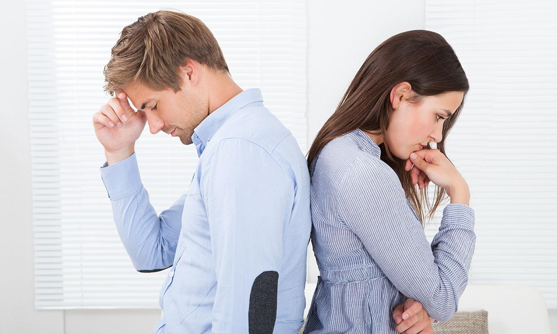 Estos son los motivos de estrés más frecuentes en una relación de pareja