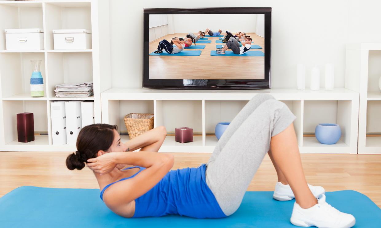Cómo mantenerte en forma desde casa con la ayuda de las redes sociales