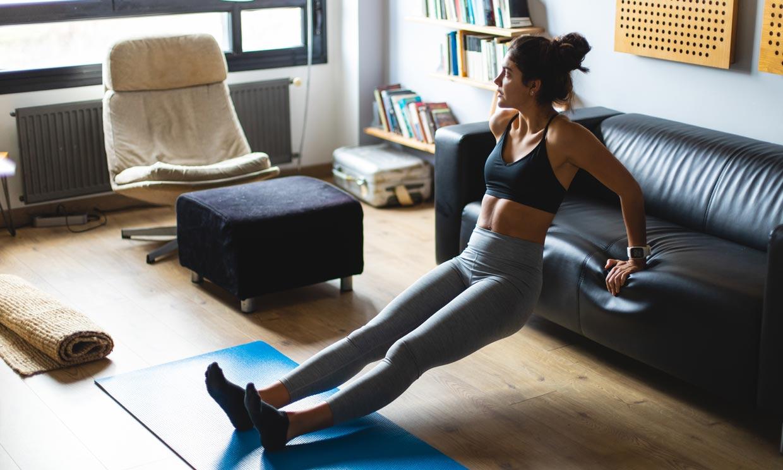 Ejercicio aeróbico + trabajo de fuerza: un completo plan de entrenamiento para hacer en casa
