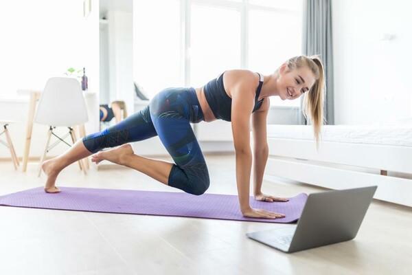 Ejercicios en casa: actividades aeróbicas y entrenamiento de ...