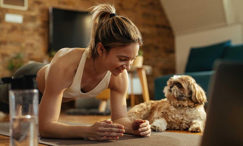 Aprovecha la cuarentena para entrenar con tu mascota