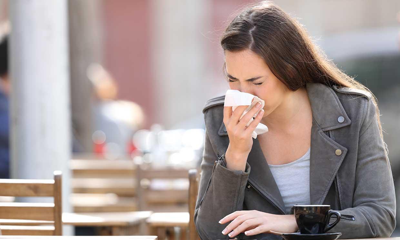 La contaminación podría perjudicar a las personas con rinitis alérgica