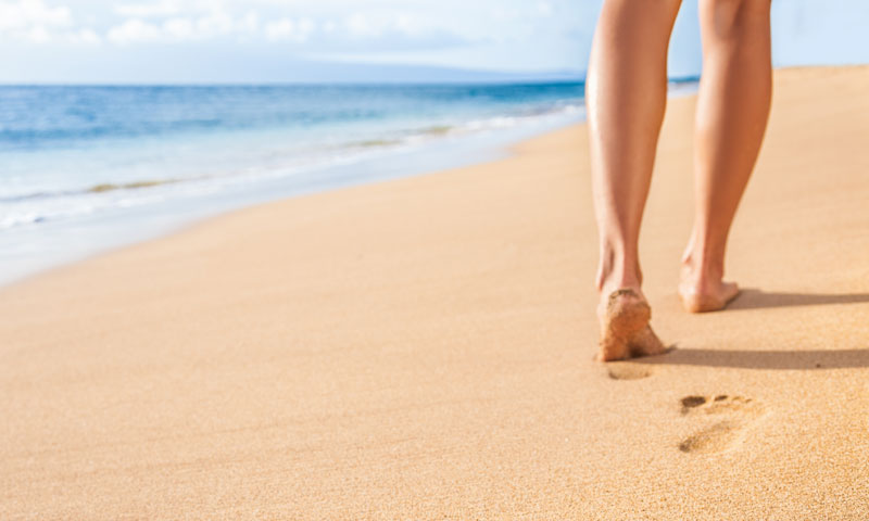 caminar-playa