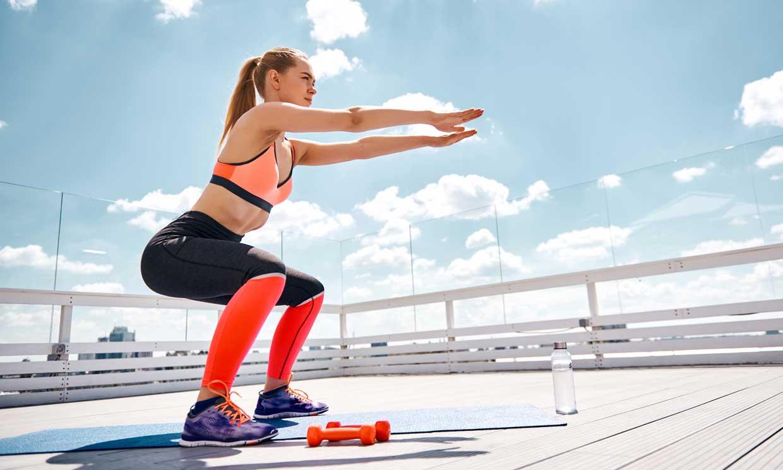 7 versiones de sentadillas para intensificar tus squats