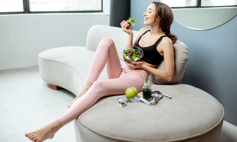 Cómo debe ser tu dieta para adelgazar o mantener el peso si tienes ovario poliquístico