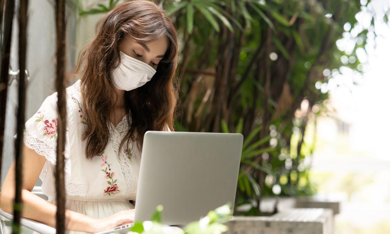 Las personas con problemas respiratorios también deben llevar mascarilla