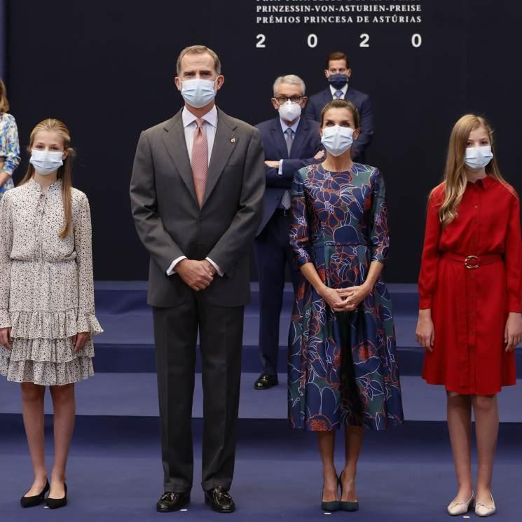 Por qué la Familia Real Española lleva mascarillas y otros miembros de la realeza europea, no