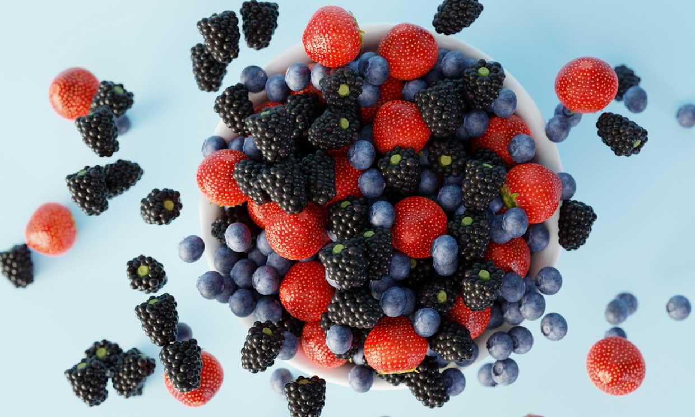 Frutos del bosque: deliciosos alimentos ricos en antioxidantes y bajos en calorías