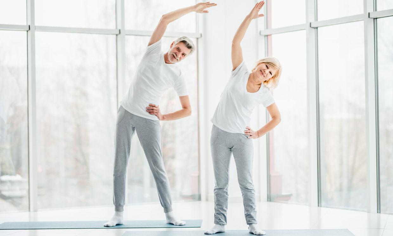 Ejercicios para gente mayor que son buenos para la salud física y mental