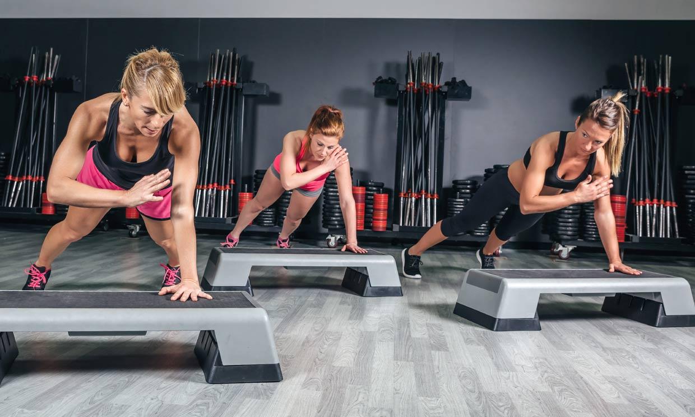 13 ejercicios con 'step' para quemar calorías y tonificar tu cuerpo