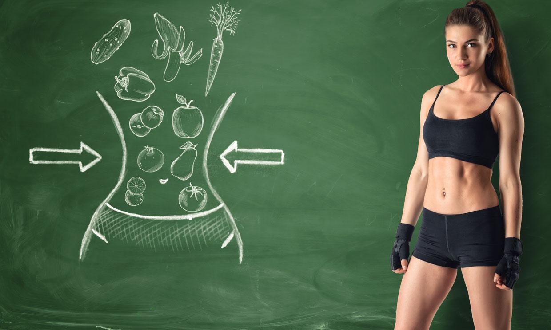 Elimina la grasa localizada con este plan de ejercicios, dieta y plantas para adelgazar