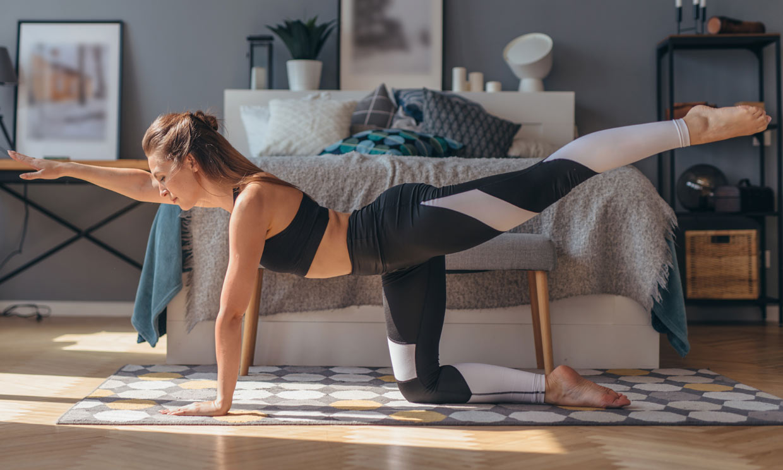 'Bird dog': el ejercicio que te ayuda a fortalecer tu zona lumbar