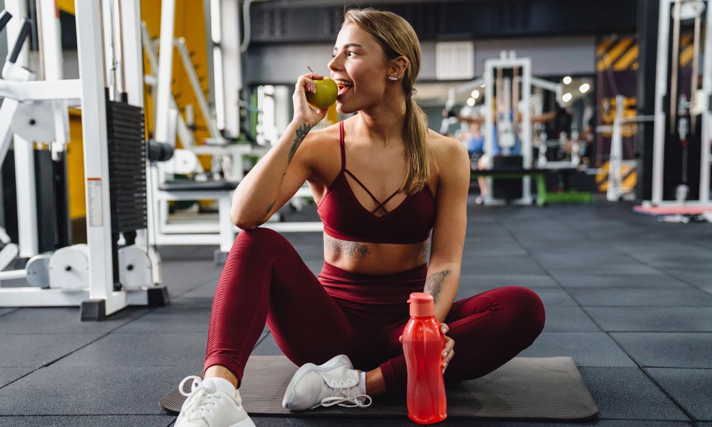 Apunta los alimentos que debes comer antes de entrenar