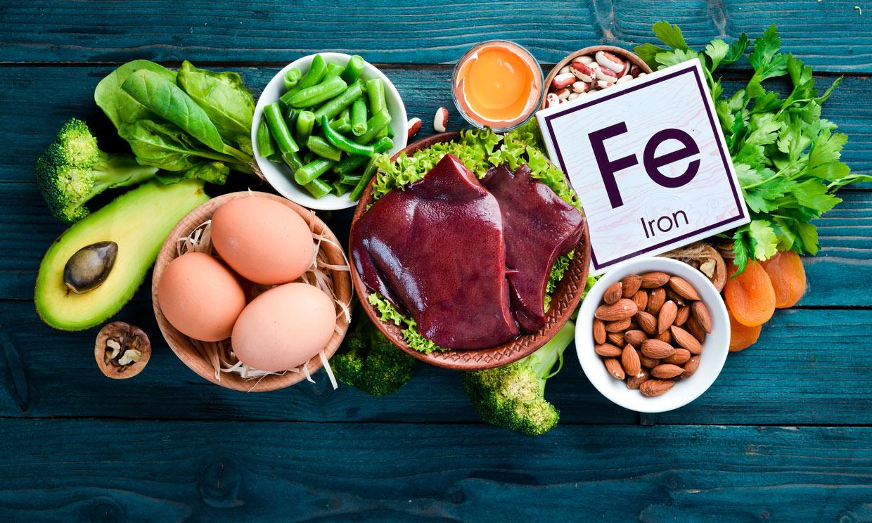 Déficit de hierro: ¿sabes cómo prevenirlo?