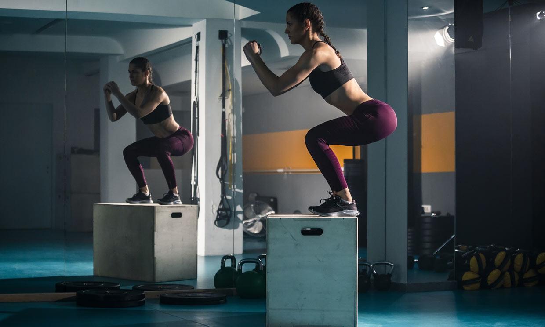 'Box jump', un ejercicio que te ayuda a tonificar tus piernas y tus glúteos