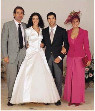 La boda de carmen ord ez y juli n contreras foto for Boda de cayetano rivera y blanca romero