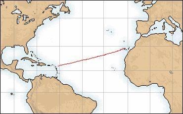 Álvaro de Marichalar pisa tierra tras cruzar el Atlántico