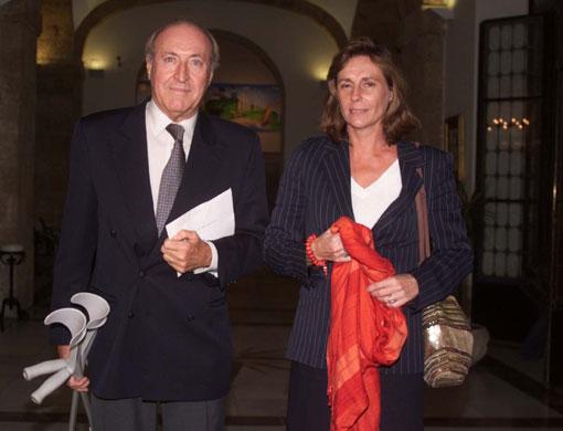 La Duquesa de Alba ingresa en la Academia de Bellas Artes de Cádiz