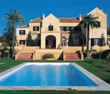 39 bellasombra 39 as es la casa la que se celebr la boda de curro romero y carmen tello - Casas de famosos en espana ...