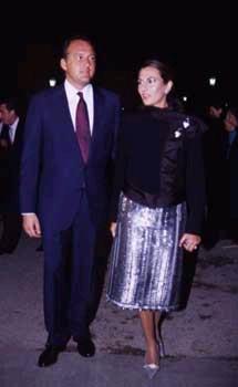 Pepe Barroso y Mónica Silva, padres de su tercer hijo