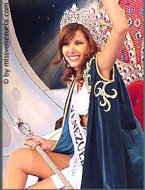 La bella Mariangel Ruiz no podrá participar en Miss Universo 2003 por la crisis económica de Venezuela