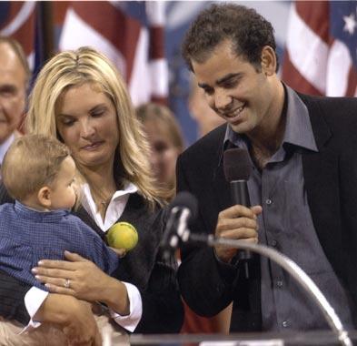 Las lágrimas de Pete Sampras al anunciar oficialmente su retirada del tenis profesional