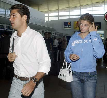 Athina Roussel y Doda Miranda, románticas vacaciones en Punta del Este antes de regresar a Europa