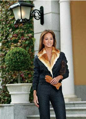 Las mujeres rusas se hicieron elegantes