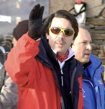 Los Aznar disfrutan juntos de unas vacaciones en la nieve