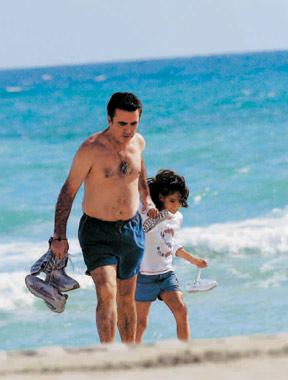 Rocío Jurado y José Ortega Cano, Navidad con sus hijos en Miami