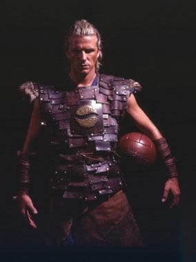 Beckham, Raúl, Ronaldinho, Totti...los astros del fútbol se transforman en guerreros medievales