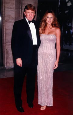 Así es Melania Knauss, la impresionante prometida de Donald Trump