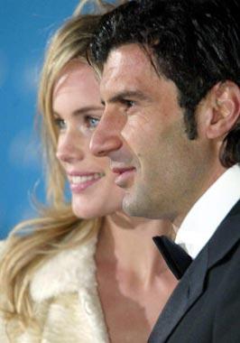 Helen Swedin y Luis Figo, 'estrellas' en la gala de los Oscar del deporte