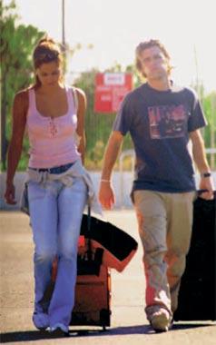 Tras su ruptura con Elsa Pataky, Fonsi Nieto disfruta de unas cortas vacaciones junto a una amiga