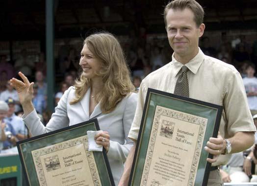 Steffi Graf homenajeada en el Hall of Fame