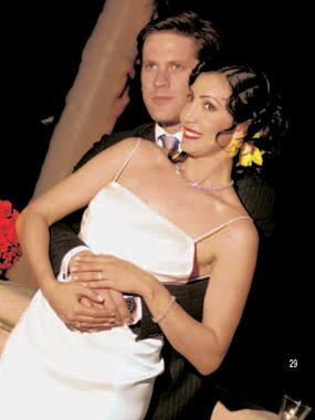 Las fotografías de la boda de María Bravo, ex novia de Bruce Willis, con Jean Dusset
