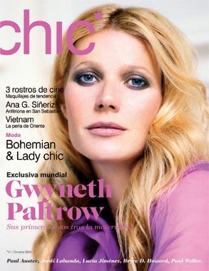 Gwyneth Paltrow en CHIC, la nueva revista de ¡HOLA!