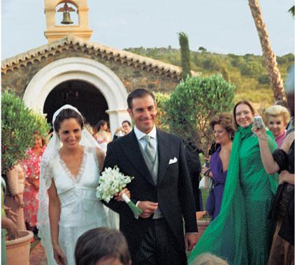 Exclusiva mundial las fotograf as de la boda de el litri y for Carolina adriana herrera instagram