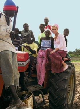 Patricia Conde desde el corazón de África