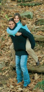 Chábeli y Julio Iglesias Jr., confidencias en un parque en las afueras de Nueva York