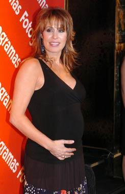 Miriam Díaz Aroca da a luz a su segunda hija, María