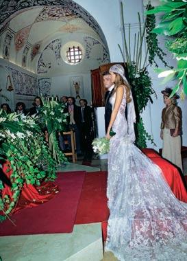 Exclusiva: todos los detalles y fotografías de la boda de Ariadne Artiles y Fonsi Nieto
