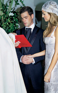 Exclusiva todos los detalles y fotograf as de la boda de for Ariadne artiles se casa con fonsi nieto
