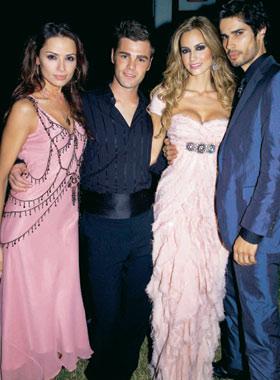 Animado fin de fiesta con Paulina Rubio en la boda de Ariadne y Fonsi