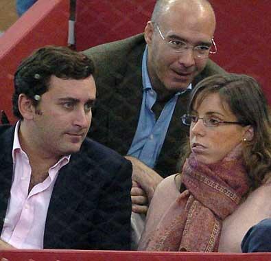 Ana Aznar y Alejandro Agag, padres de su segundo hijo, Rodrigo