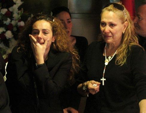 Rocío Carrasco, rota de dolor por el fallecimiento de su madre