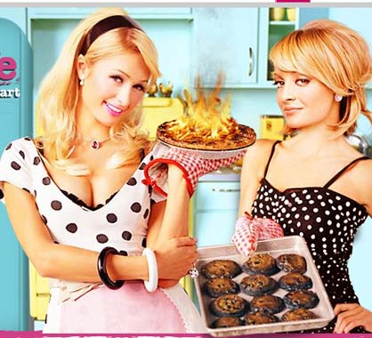 Paris Hilton, aprendiz de ama de casa televisada
